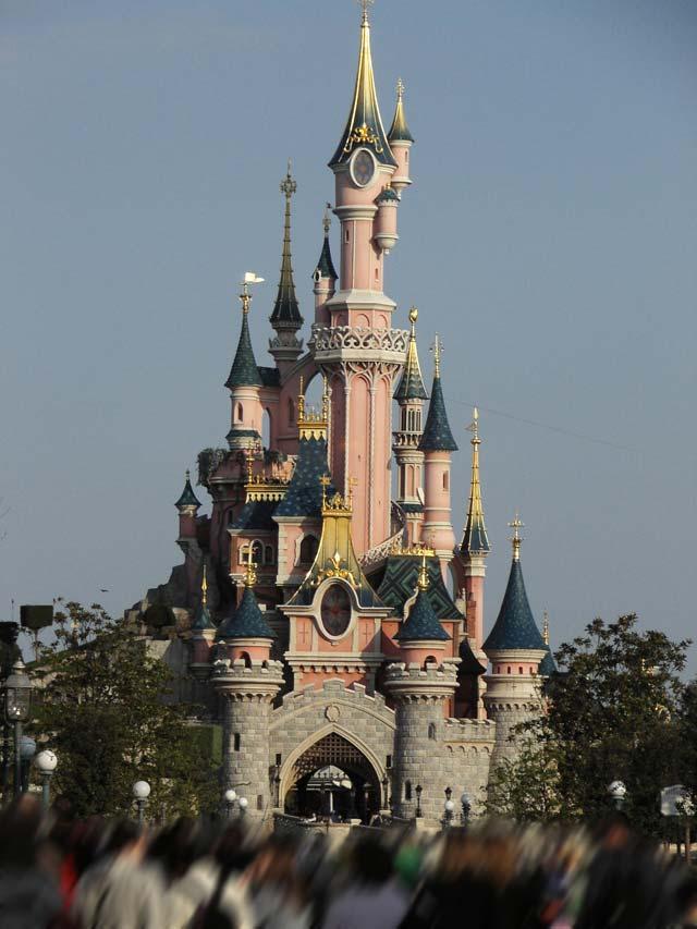 Chateau de la belle au bois dormant fantasyland parc disneyland disneyland paris - Chateau la belle au bois dormant ...