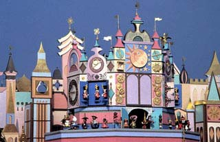 Une partie de la Façade de It's a Small World