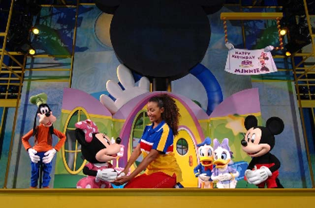 Mickey et ses amis a Playhouse Disney Live!